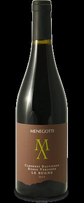 Le Bugne Cabernet Sauvignon Rosso Veronese IGT Menegotti